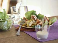 Potato Salad with Smoked Salmon recipe