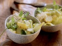 Potato Salad with Sprouts and Cilantro