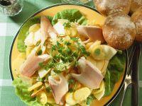 Potato Salad with Trout recipe