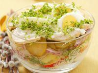 Potato Salad with Turkey recipe