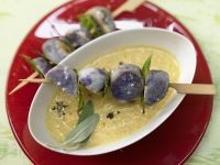 Potato Skewers with Bay Leaves recipe