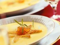 Potato Soup with Caviar recipe