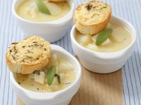 Potato Soup with Celery, Sage and Thyme recipe