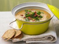Potato Soup with Kale recipe
