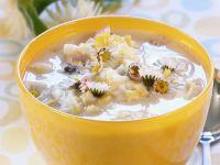 Potato Soup with Daisies recipe