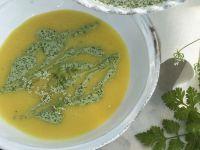 Potato Soup with Pesto recipe