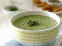 Potato Soup with Watercress recipe