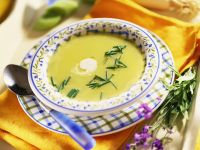 Smooth Vegetable Bisque with Herbs recipe
