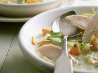 Potato Stew with Rutabaga and Chicken recipe