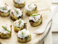 Potato Tartlets with Sorrel and Crab recipe
