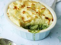 Potato-topped Herb and Fish Pie recipe