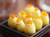 Potatoes with Caviar recipe