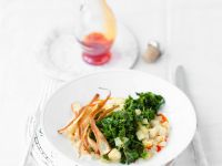 Potatoes with Kale recipe