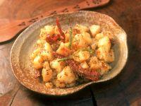 Potatoes with Sesame Seeds recipe