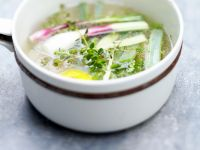 Poultry and Spring Onion Consomme recipe