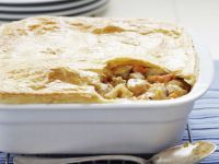 Poultry and Veg with Pastry Topping recipe