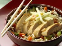 Poultry with Vermicelli Stir Fry recipe