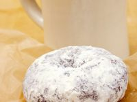 Powdered Sugar Spice Donuts recipe