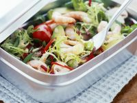 Prawn and Avocado Lunch Salad recipe