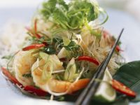 Prawn and Chile Glass Noodles recipe