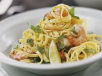 Prawn and Citrus Pasta Bowl recipe