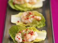 Prawn and Lettuce Wraps recipe