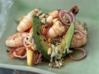 Prawn, Avocado and Peanut Salad recipe