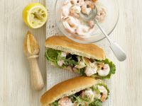 Prawn Salad Finger Rolls recipe