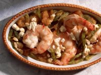 Prawns with Tomato and Feta Gratin recipe