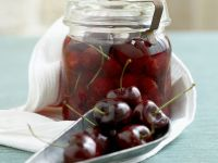 Preserved Vinegar Cherries recipe