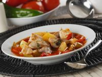 Presure Cooker Tuna and Vegetable Stew recipe