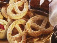 Pretzel-shaped Cookies recipe
