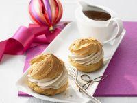 Profiteroles with Chocolate Cream recipe