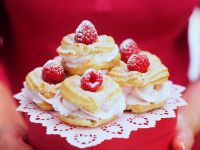 Profiteroles with Cream Filling recipe