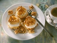 Profiteroles with Mascarpone and Kirsch Filling recipe