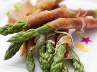 Prosciutto and Asparagus Spears recipe