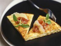 Prosciutto and Cheese Quiche recipe