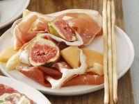 Prosciutto with Figs and Melon recipe