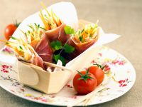 Proscuitto Salad Rolls recipe