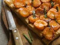 Puff Pastry Tart with Apricots recipe