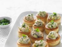 Puff Pastry with Chicken, Leeks, and Mushroom recipe