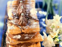 Puff Pastry with Chocolate recipe