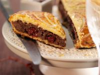 Puff Pastry with Chocolate and Cherry Filling recipe