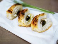 Puff Pastry with Feta and Anchovies recipe