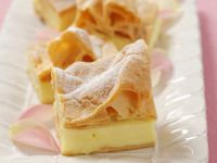 Puff Pastry with  Polish-style Custard recipe
