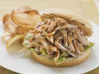 Pulled Chicken Toasted Sandwich recipe