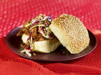 Pulled Pork Sandwiches with Crunchy Coleslaw recipe