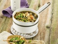 Pulse Stew with Green Leafy Vegetable recipe