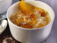 Pumpkin and Coconut Soup with Oranges recipe