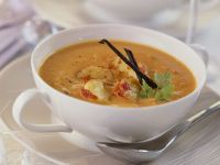 Pumpkin and Lobster Soup recipe